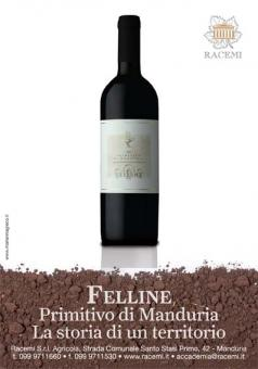 Racemi - Felline primitivo Advertising