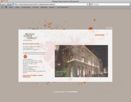 Design Supermarket, La Rinascente @ Radl & - Website design 2 - www.designsupermarket.it
