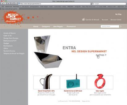 Design Supermarket, La Rinascente @ Radl & - E-shop design