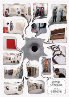 Galleria Massimo De Carlo @ Radl & - Nate Lowman Exhibition - poster design
