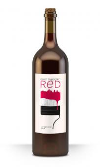 Paint the town red - Label design for Abc Wines, California